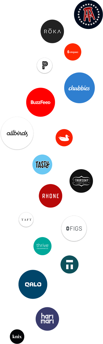 vertical customer logos
